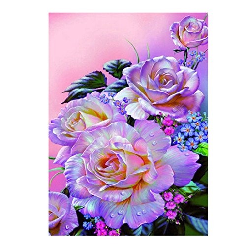 Franterd Landscape - 5D DIY Diamond Paintings - Rhinestone Embroidery Pasted Painting - Arts, Crafts & Sewing Cross Stitch Kit - Home Decor Craft (42X30CM, J)