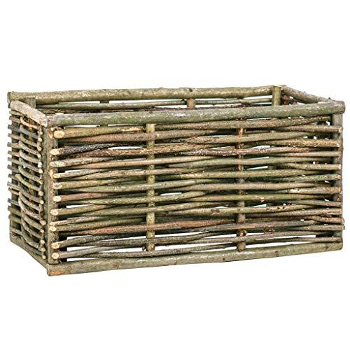 SKM Raised Garden Raised Bed 80x40x40 cm Hazel Wood