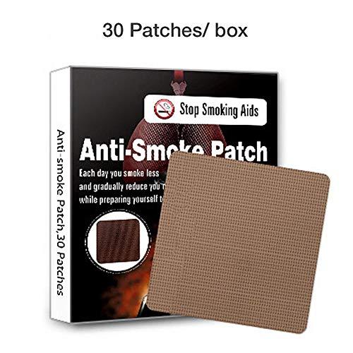 kbjm Anti Smoke Patch , 30PCS Transdermal-Technologie-Aufkleber mit verzögerter Freisetzung für gesundes Leben