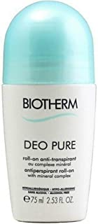 Biotherm Deo Pure Antiperspirant Roll-On, 75 ml