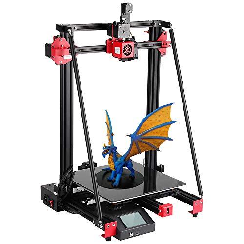 Anbull Stampante 3D Pyramind ampia area di stampa 300x300x400mm, Pulsa I3 struttura Stabile telaio completamente in metallo Kit di autoassemblaggio ad alta precisione per PLA/ABS/TPU/PC/ CARBONIO