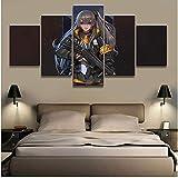 Modulaire Hd Prints Pictures Home Decoration 5 Pièces Peintures Toile Affiche Mur...