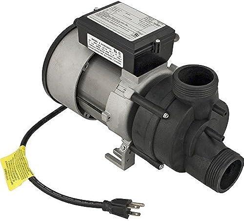 Balboa 1074002 Bath Pump WOW 1.5HP 13.5AMP 115V 1SPD Air Switch 3' Nema by Balboa
