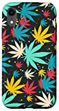 iPhone XR Weed Phone Case Psychedelic Marijuana Leaf Gift Cannabis Case