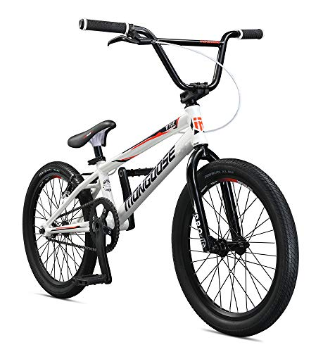 Cheap Mongoose Title Elite Pro XL BMX Race Bike, 20-Inch Wheels, Advanced Riders, Professional-Grade...