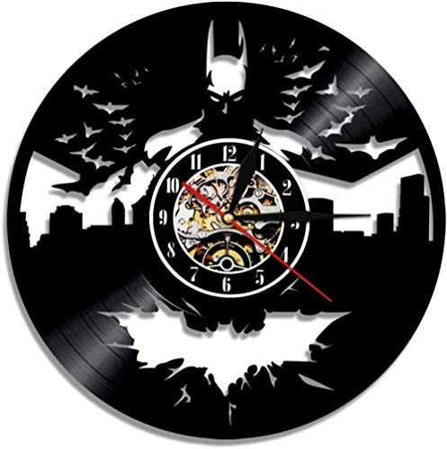 CD Record Wandklok Vinyl Holle Decoratieve Hangende Art Decor Clock Classic Exclusieve Wandklok Classic-A