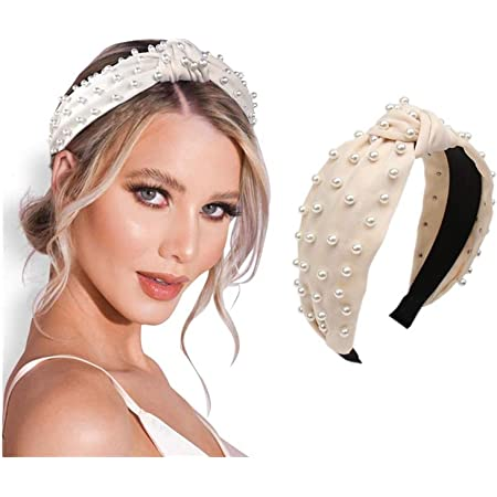Women/'s PU Leather Headband Padded Hairband Wide Hair Hoop Accessories Headpiece