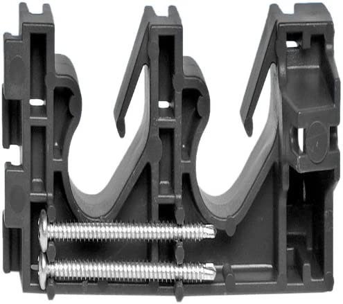 Oatey 33681 Two-Pipe Clamps with Screws in overseas Polybag Quality inspection 2-In a 1 20