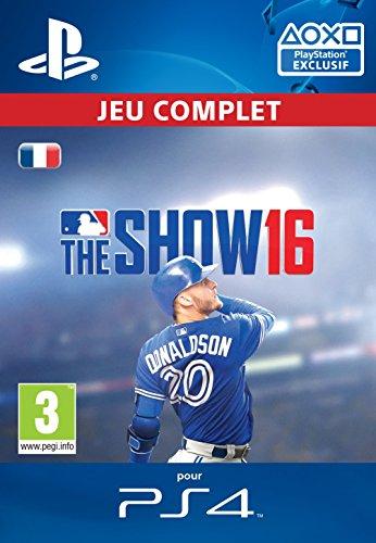 MLB The Show 16 [Code Jeu PSN PS4 - Compte français]