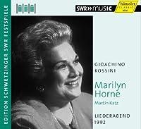 Liederabend 1992 by GIOACHINO ROSSINI (2013-04-30)