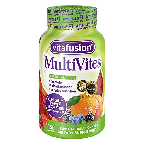 Vitafusion Multi-Vite, Gummy Vitamins For Adults, 150-Count