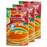 Just Add Water You will receive 3 bags of 6-ounce pancake mix Made in Hawaii