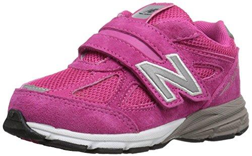 New Balance KV990V4 Infant Running Shoe (Infant/Toddler), Pink/Pink, 24 XW EU