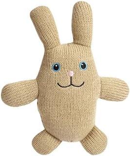 Zanies Cottontail Cuddler Pet Toy, Tan