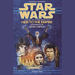 Page de couverture de Star Wars: The Thrawn Trilogy, Book 1: Heir to the Empire