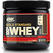 OPTIMUM NUTRITION GOLD STANDARD 100% Whey Protein Powder, Double Rich Chocolate, 3.24 Ounce