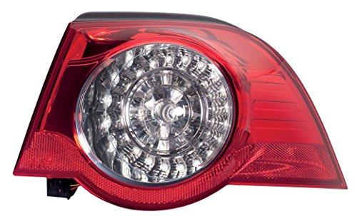 HELLA 2VA 009 246-101 Heckleuchte - LED - glasklar/rot - äusserer Teil - rechts