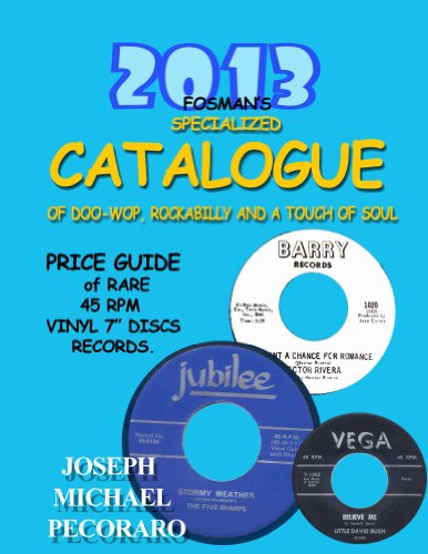 2013 Fosman's Specialized Catalogue (2013 Fosman's Specialized Price Guide Book 2) (English Edition)