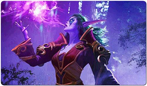 374364 - World of Warcraft-Brettspiel MTG Spielmatte Tischmatte MTG playmat Größe 60x35cm Mousepad Spielmatte für TCG Magic The Gathering