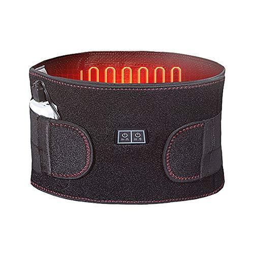 ZFF Respirable Soporte Lumbar Cinturón,Lejos Infrarrojo Lumbar Cinturón para Hombres...