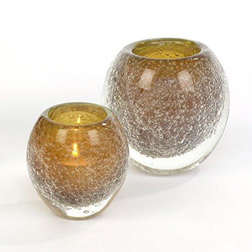 Lambert Salviato Windlicht klein H 10 D9 Amber Glasaccessoires, One Size
