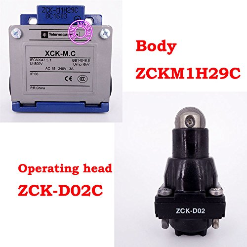 Limit Switch Original New XCK-M.C XCKM102H29C XCK-M102H29C ZCKM1H29C ZCK-M1H29C ZCKD02C ZCK-D02C