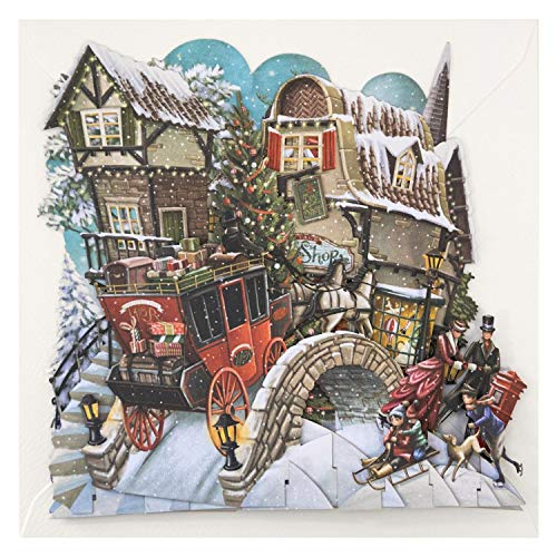 What The Dickens! Top of The World 3D Pop-Up Christmas Card