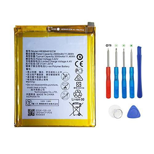 Swark HB366481ECW Batería Compatible Huawei P8 Lite