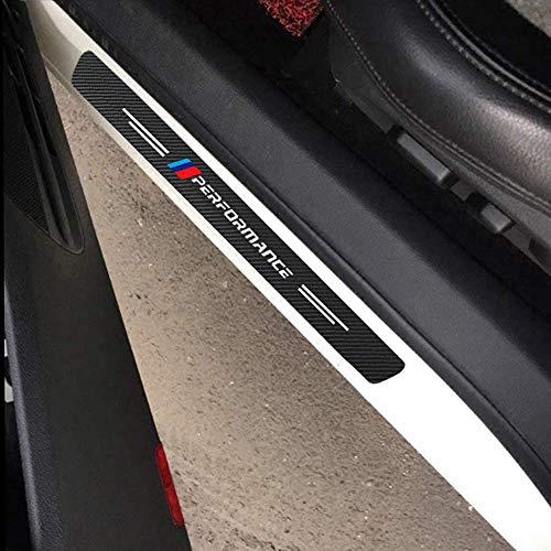 Fundas protectoras de umbral de puerta para BMW M3 M5 M6 E46...