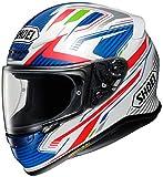 Shoei NXR Stab - Casco de moto (talla XL), color rojo, blanco y azul (TC-2)
