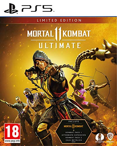 Mortal Kombat 11: Limited Edition PS5 Limitada PlayStation 5