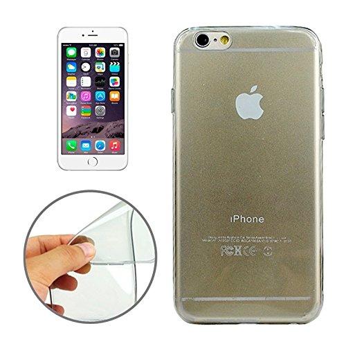 FATEGGS Accesorios para teléfonos móviles Funda TPU Ultrafina de 0.45mm para iPhone 6 Plus y 6S Plus Casos Cubre (Color : Grey)