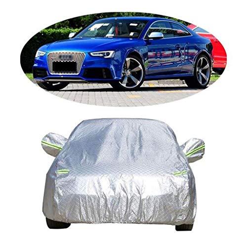 WYLZLIY-Home Cubierta de coche impermeable para todo tipo de clima, cubierta de nieve impermeable, protección UV para interiores y exteriores, protección contra todo tipo de clima, protección solar UV