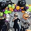 114-Pieces Melody Fantasy Halloween Balloon Garland Arch Kit