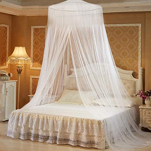 Babytowns - Mosquitera grande de 250 x 60 cm, para cama de matrimonio y cama individual, malla fina, para casa, también en el viaje