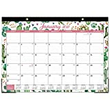 2021 Desk Calendar - 12 Months Desk Calendar , 17' x 12', Monthly Desk or Wall Calendar, January 2021 - December 2021, Large Ruled Blocks Perfect for Planning and Organizing for Home or Office
