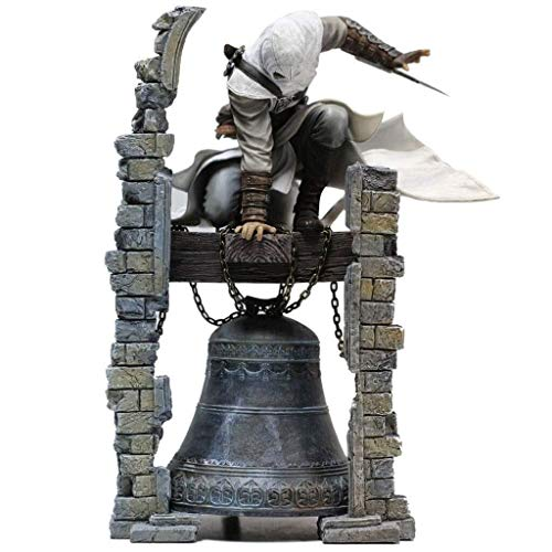 character Anime Model Souvenir Collectible Ornament,Assassin's Creed Model Toy Decoration Clock Tower Statue Gift Crafts Game Anime Lovers (28CM)