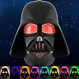 Star Wars Darth Vader LED Night Light, Color Changing, Collector's Edition, Dusk-to-Dawn Sensor, Plug-in, Disney, Galaxy, Ideal for Bedroom, Bathroom, Nursery, Hallway, 43428