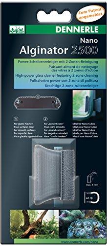 Dennerle Nano Alginator 2500 - Algenmagnet zur Reinigung von Aquarienscheiben