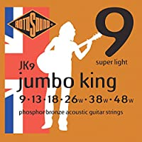RotosoundジャンボキングSuper Light Phosphor Bronzeアコースティックギター文字列