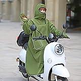 Cubiertas de motociclo Cubiertas de Parabrisas Impermeables Cubierta de Pierna de Invierno for Scooters Lluvia Viento Protector frío Ropa Rodilla Motocicleta Manta Rodilla Calentador (Color : Green)