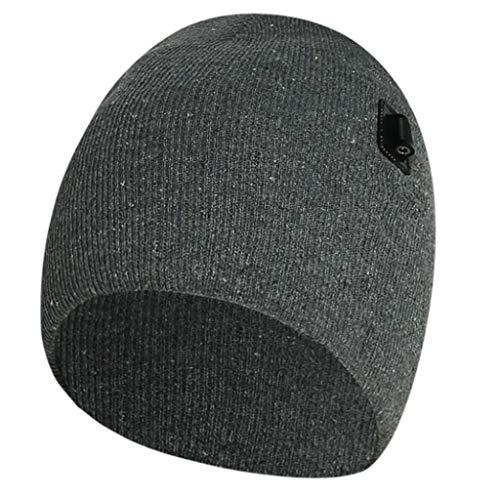 wenjuersty Elektrisch beheizte Beanie-Mütze für den Winter, wiederaufladbar,...