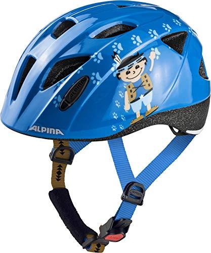ALPINA XIMO Fahrradhelm, Kinder, indian, 45-49