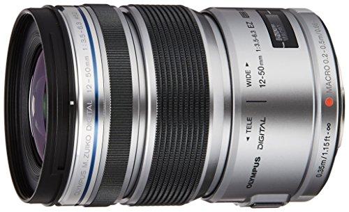 OLYMPUS ミラーレス一眼 レンズ 防塵 防滴 電動ズーム ED 12-50mm シルバー M.ZUIKO DIGITAL ED12-50mmF3.5-6.3 EZ SLV