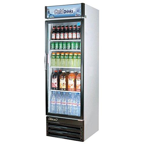 Turbo Air TGM-14RV, 1 Door, Glass Swing Door Refrigerator