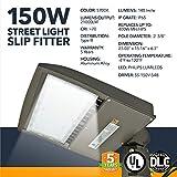 150W LED Street Light, Pathway Lighting, 21000 Lumens, 5700K Daylight White, IP65 Waterproof - UL, DLC Certified, 5 Year Warranty