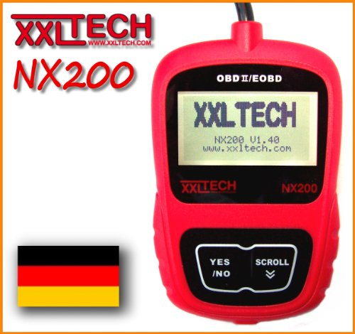 XXL Tech KWP2100 NX200 Can Bus Diagnose Scanner Deutsch OBD 2