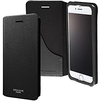 """GRAMAS COLORS """"EURO Passione 2"""" Leather Case CLC2156 for iPhone 7(ブラック)"""