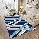 Alfombras Dormitorio Azul Alfombra Grande Habitacion Resumen...