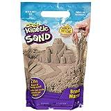 Kinetic Sand The Original Moldable Sensory Play Sand, Brown, 2 Lb